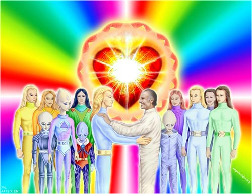 Heavenly Angels Friendship With Earth Men